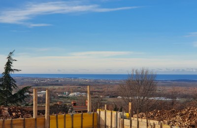 Villa with pool, open panoramic sea view !! - under construction