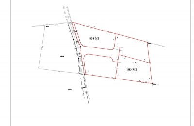 Building land, 838m2 and 883m2 - 4km from Porec and the sea !!